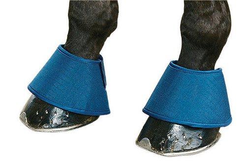 Water Boots Springglocken blau | Waterboots Hufglocken gegen trocken Hufe spart Huföl | - Trocken Boot