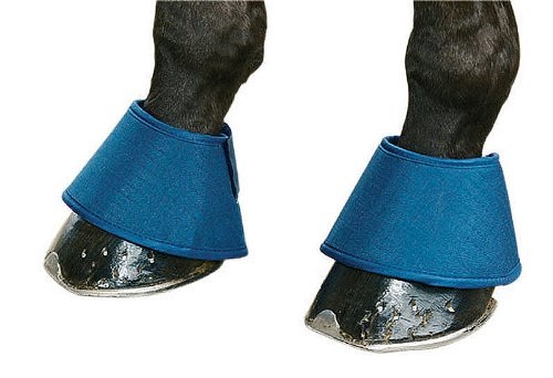 Reitsport Amesbichler Water Boots Springglocken blau | Waterboots Hufglocken gegen trocken Hufe spart Huföl | Hufglocken