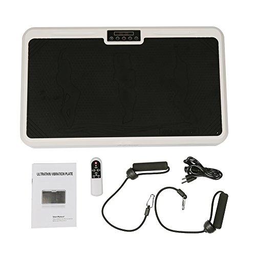 Vibro Shaper Vibrationsplatte Ganzkörper Profi Vibrationsplatte Trainingsfläche mit Anti-Rutschbeschichtung - Zwei Farben Zur Auswahl (schwarz)