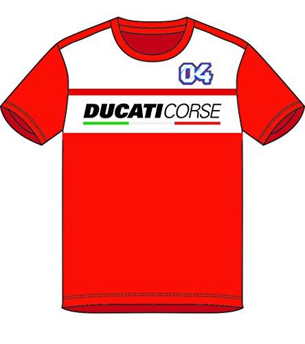 Pritelli 1836019/L Shirt Herren Ducati Corse Andrea Dovizioso Rennen 04, Größe L