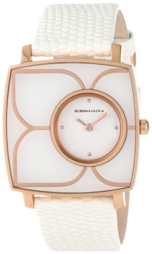 bcbg-max-azria-bcbg-reloj-analogico-de-cuarzo-para-mujer-con-correa-de-piel-color-blanco