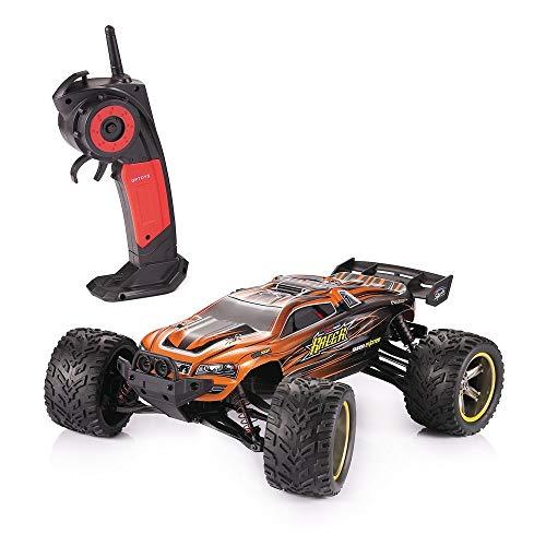 MODELTRONIC Autoradio-Fernbedienung Truggy Scale 1/12 2,4G / Geschwindigkeit 40 km/h / LiPo-Akku enthalten / Car RC XINLEHONG GPTOYS S912 ferngesteuertes Spielzeugauto (Orange Truggy 9116)*