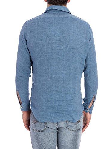 Finamore Blusa Azzurro