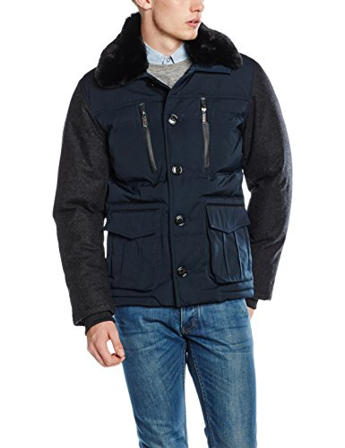 Lights of London Herren Piccadilly Circus Jacke, Blau (Dark Navy 009), XX-Large -