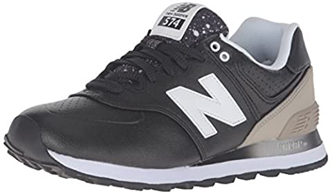 New Balance Damen 574 Laufschuhe, Mehrfarbig (Black/Grey 003Black/Grey 003), 40 EU