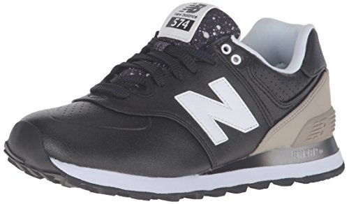 New Balance 574, Scarpe Running Donna, Multicolore (Black/Grey 003), 39 EU