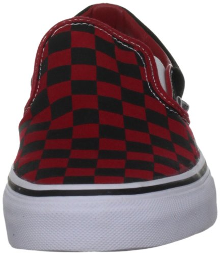 Vans U Classic Slip-on, Baskets mode mixte adulte Noir (Black/Formula One Checkerboard )