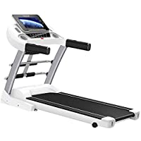 Treadmill for Gym, Hydraulic Folding, Air Suspension Shock Absorption, Slope Adjustment, Heart Rate Test, Multifunctional With Massage