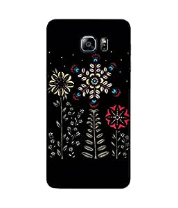 Abstract Flower Samsung Galaxy Note 5 Case