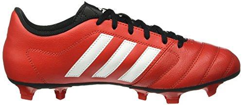 adidas Gloro 16.1 Fg, Chaussures de Football Compétition Mixte Adulte Multicolore - Rojo / Blanco / Negro (Rojint / Ftwbla / Negbas)