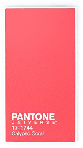 Pantone BXPAPB3004 - Batería auxiliar de 3000 mAh con micro USB, rosa