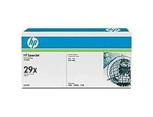 C4129X HP Toner Cartridge 29X Schwarz HP 29X ca. 10.000 Seiten, für Laserjet 5000 / 5000N / 5000GN.