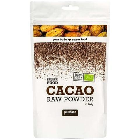 Cacao en Grano 200 gr de Purasana