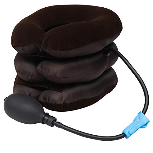 Traccion Cervical Collarin Del Cuello 3 capa - Almohada