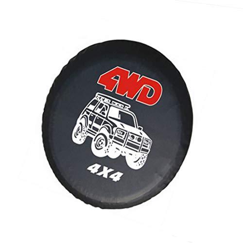 1 funda protectora neumático coche 4 WD rueda repuesto