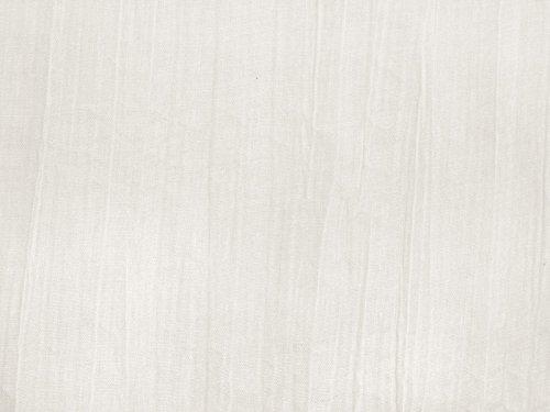 Gonna di crash verticali, misto cotone, bianco crema, 140cm
