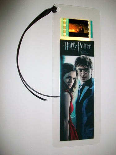 Harry Potter 7(Heiligtümer des Todes PT. 1) Film Memorabilia Film Cell Lesezeichen (Harry-potter-film Zelle Lesezeichen)