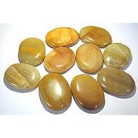 Beautiful Zehn gelb Jasper Worry Stones Crystal Healing Reiki Feng Shui Herren Frauen Geschenk metaphysisch Daumen... preisvergleich bei billige-tabletten.eu