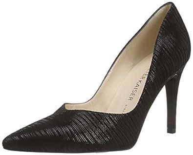 Peter Kaiser  DIONE, Chaussures à talons - Avant du pieds couvert femmes - Noir - Schwarz (SCHWARZ BABEL 570), 42 EU