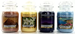 Idea Regalo - Official Yankee Candle dazzling culture Selection box Gift set da 4barattoli Signature grande