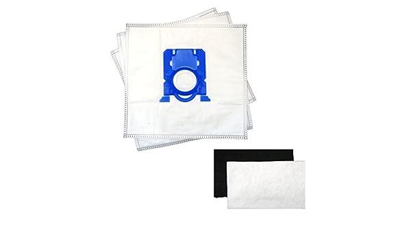 10 Sacchetto per Aspirapolvere Adatto Per AEG vx7-2-eb-p