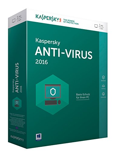 Kaspersky Anti-Virus 2016 – 1 PC / 1 Jahr