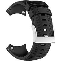 Cooljun pour Suunto 9 Baro, Nouveau Bracelet en Silicone léger à ventiler pour Sport