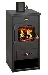 Wood Burning Stove Fireplace Log Burner Multi Fuel 8kw Prity K1 Optima