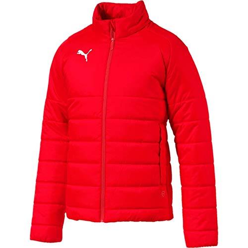 PUMA Herren Liga Casuals Padded Jacket Jacke, Red White, - Herren Steppjacke Puma