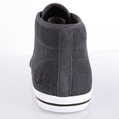 Fred Perry Fletcher Printed B5237491, Herren Sneaker Grau