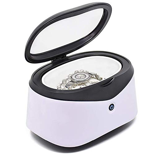 YHML 600 ml Limpiador ultrasónico baño Temporizador joyería Cepillo Gafas manicura Piedra Piezas de Corte Dental ultrasónica Razor Sound Wave