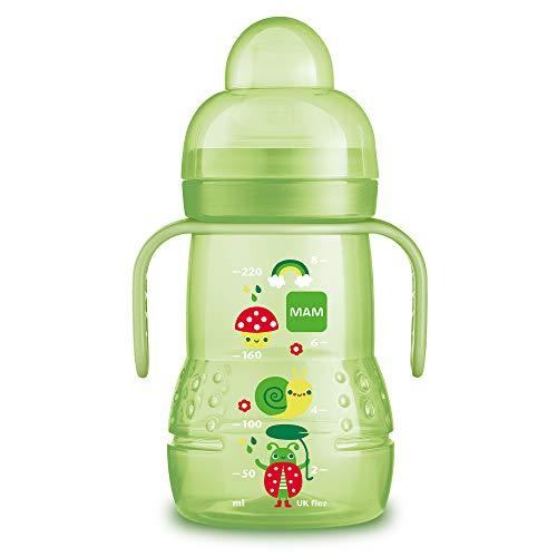 Bebés Nip Trinklernflasche Silikon-trinkschnabel Con Anticólico Válvula Alimentación Del Bebé