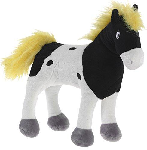 Yakari 639775 Plüschtier, Pferd, schwarz/weiß - Stofftier Großes Pferd