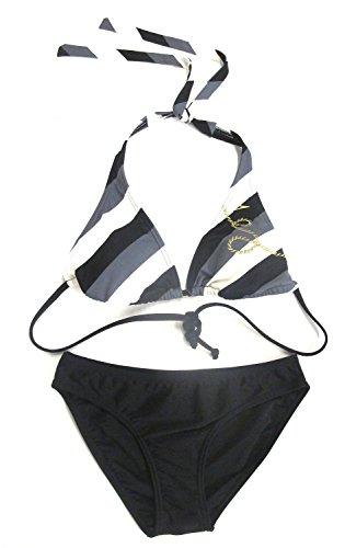 Sportlicher Speedo Damen Bikini Key West Triangle Schwarz, Weiß