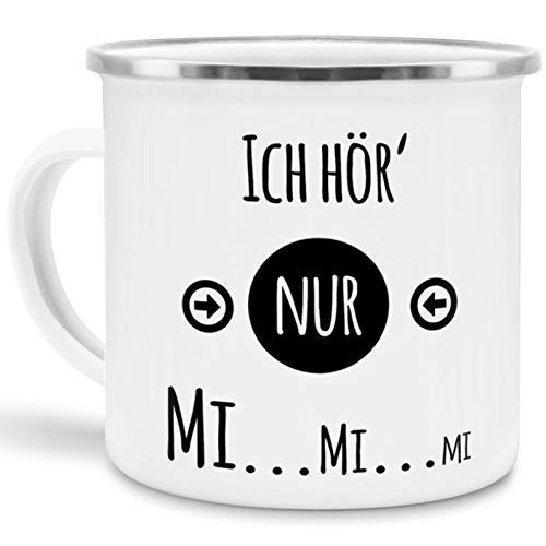 HOCHWERTIGE_EMAILLE TASSE_MIT OUTDOOR_DESIGN BEGINS_ Camping & Outdoor