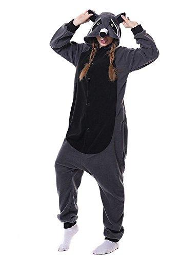 SAMGU Unisex Erwachsene Strampler Bear Kigurumi Animal Pyjamas (Bear Kostüme Polar Halloween)