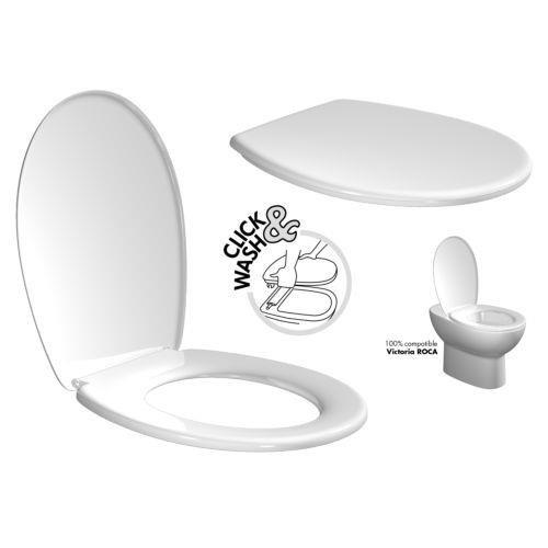 TATAY Standard - Tapa y asiento para inodoro en PP, blanco