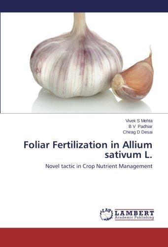 foliar-fertilization-in-allium-sativum-l-novel-tactic-in-crop-nutrient-management