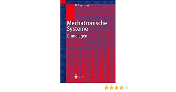 MECHATRONISCHE SYSTEME ISERMANN DOWNLOAD