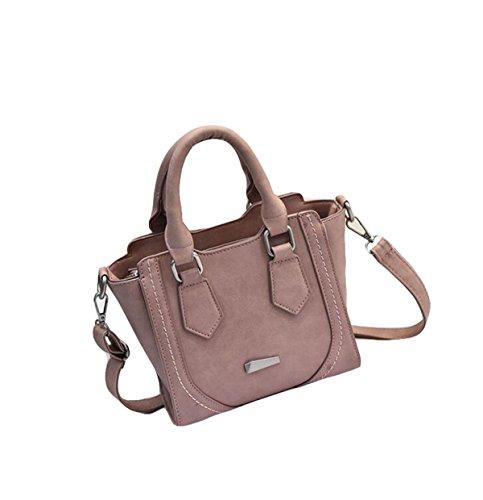 Handtaschen-Art- Und Weiseschulter-Beutel-Handtaschen-Minitaschen-Kurier-Beutel-Lächeln-Beutel Beiläufig Einfach Pink