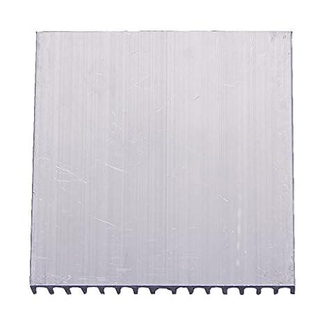 SODIAL(R)Radiateur de Refroidissement en Aluminium pour 5W / 2 x 3W / 5 x 1W Lumiere LED