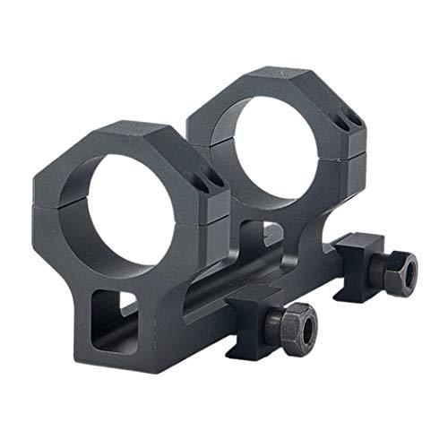 FOCUHUNTER High Profile 30mm Anneaux Scope Montage - Dual Lunette de Visee Montage Adapter avec 20mm Weaver/Picatinny Rail Para Tiro y Caza