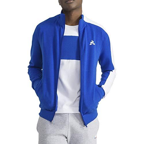 Le Coq Sportif FATIPU Sweatshirts und Fleecejacken Herren Blau/Weiss - XL - Sweatshirts