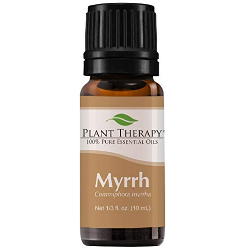 Plant Therapy Myrrh Essential Oil | 100% Pure, Undiluted, Natural Aromatherapy, Therapeutic Grade | 10 mL (1/3 oz)