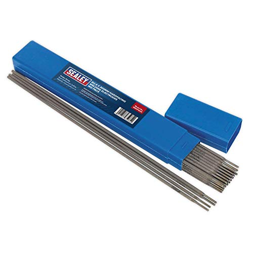 Sealey WEHF1025 - Electrodos Resistentes para Soldadura Ø 2,5 mm x 300 mm, Pack de 1 kg.