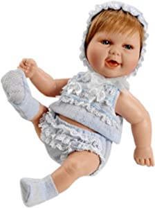 Berjuan- Baby Smile SAQUITO Azul Ref: 0493-19, Multicolor (493)