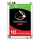 Seagate ST10000VN0004 IronWolf 10 TB interne NAS Festplatte (8,89 cm (3,5 Zoll) 256 MB Cache, 7200 RPM, Sata 6 Gb/s)