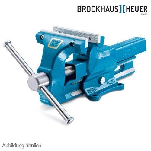 Preisvergleich Produktbild HEUER Parallel-Schraubstock 140 mm Wechselbacken blau