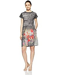 Satyapaul Women's Linen A-Line Dress