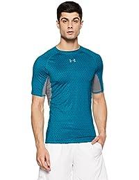 Under Armour T-Shirt de Compression à Manches Courtes Homme